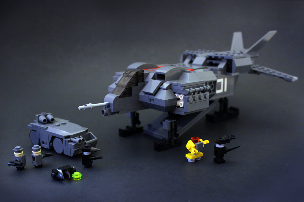 Aliens Dropship Flickr