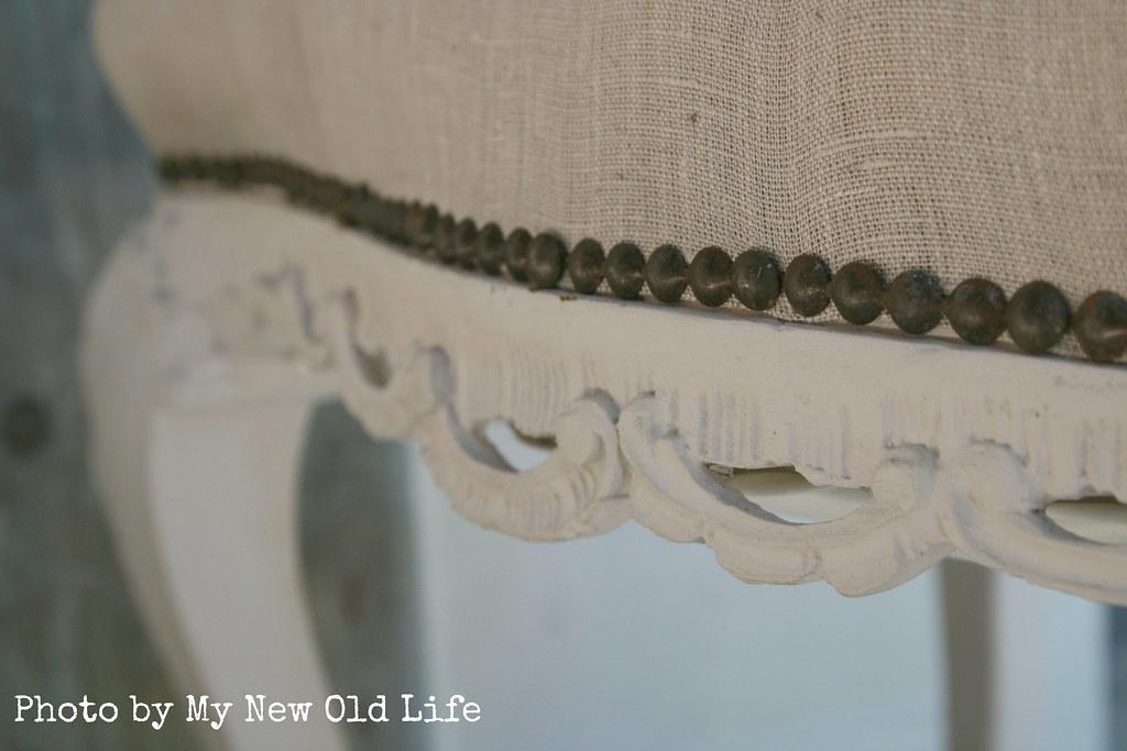Sgabelli shabby chic handmade intagliato eugenia ferretti flickr