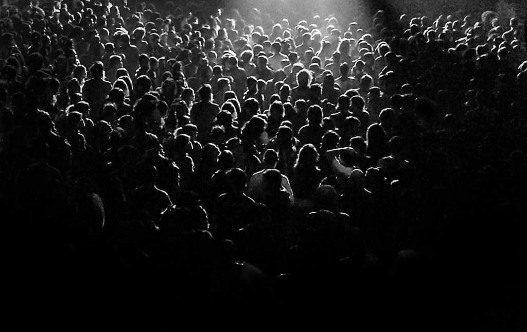 Rock Concert Crowd Black And White | www.imgkid.com - The ...