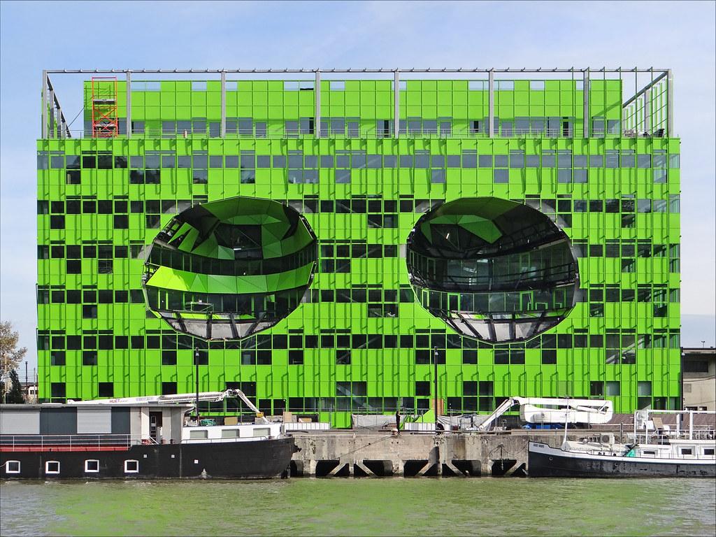 euronews lyon confluence le pavillon vert sera le