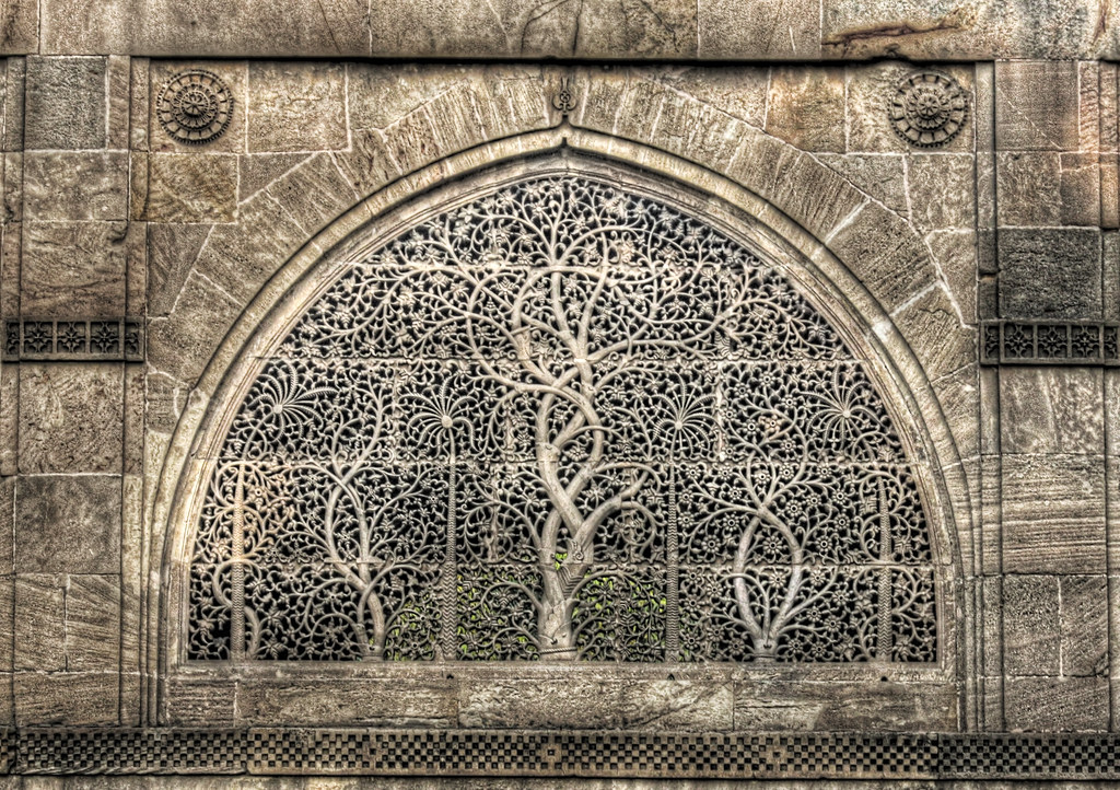 Ahmedabad Ind Sidi Saiyyed Mosque Window Carving Flickr