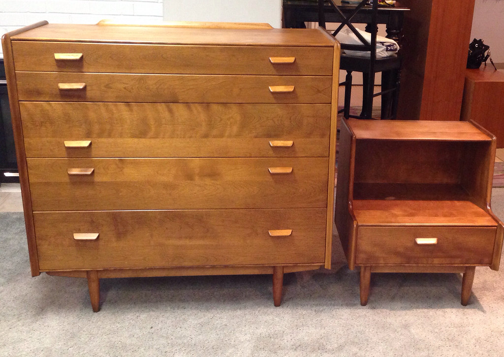 ... Russell Wright For Conant Ball Dresser And Nightstand. Bought Off Some  Guy In A Parking