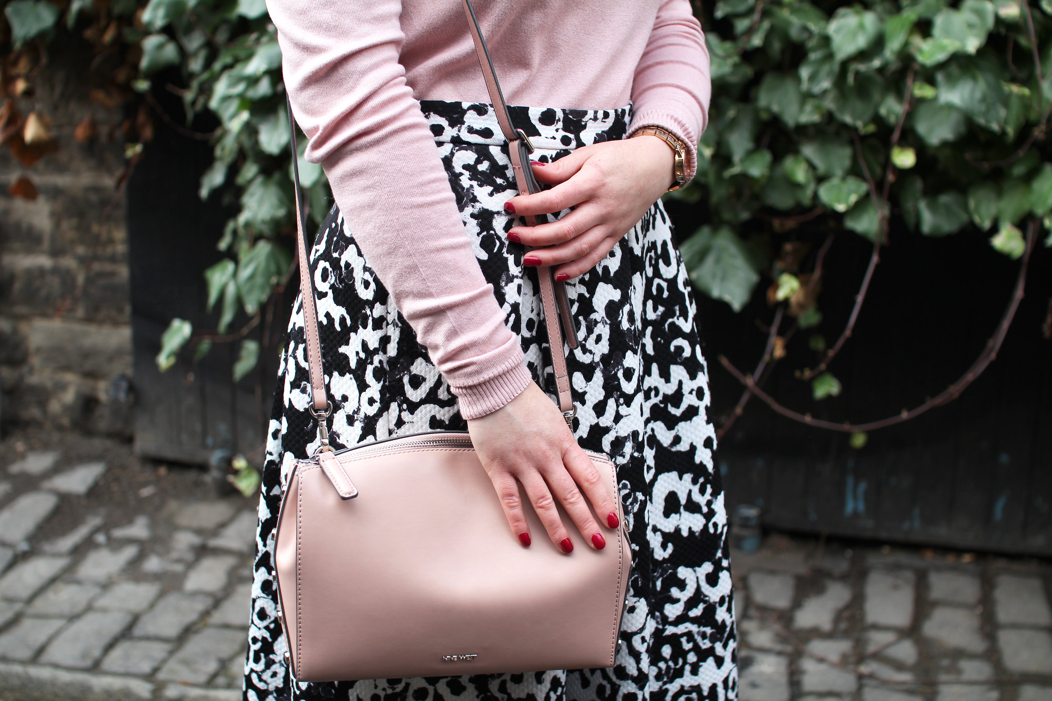 ruffle jumper top new look pink uk fashion lifestyle blogger The Little Things