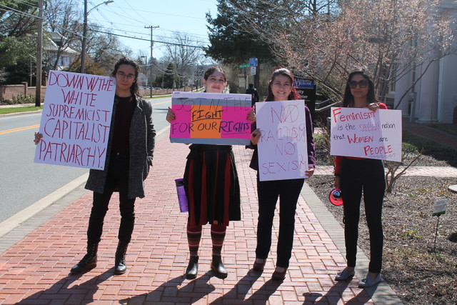 Coming together in solidarity: Creating a safe space on International Women's Day