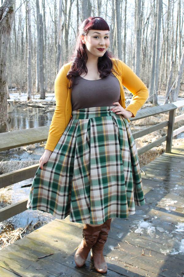 pinup girl clothing long jun skirt