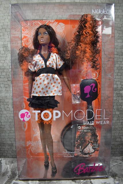 2007 Barbie Top Model Hair Wear Nikki M5799 (2)