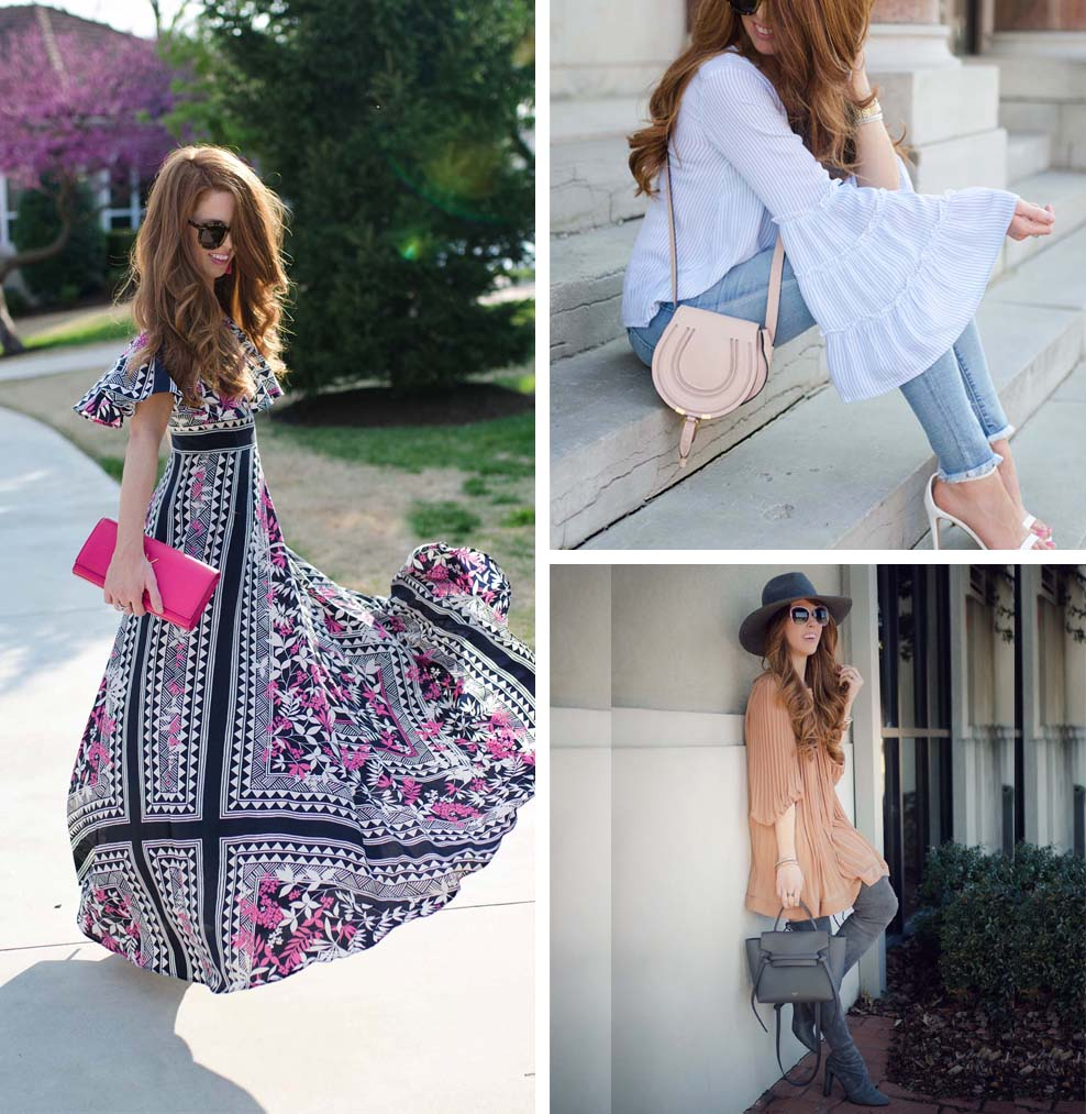 10 Romantic, Feminine Style Fashion Bloggers (Tara - Jimmy Choos and Tennis Shoes)