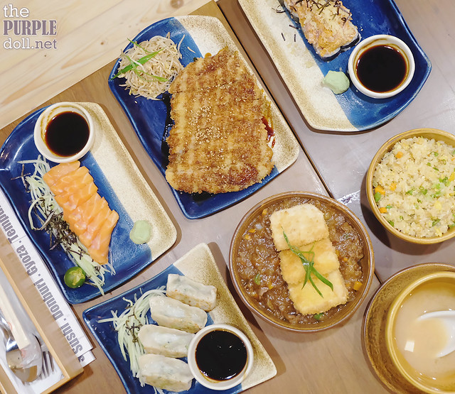 Lunch at Hanako Maginhawa