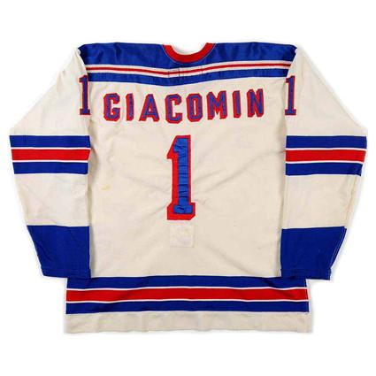 New York Rangers 1974-75 B jersey