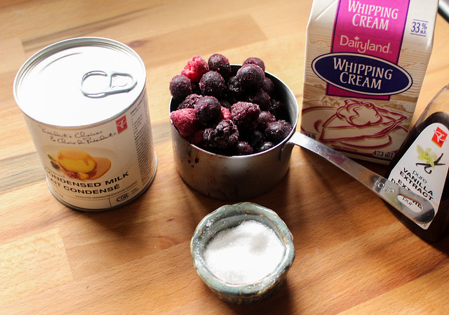 No Churn Wildberry Ice Cream