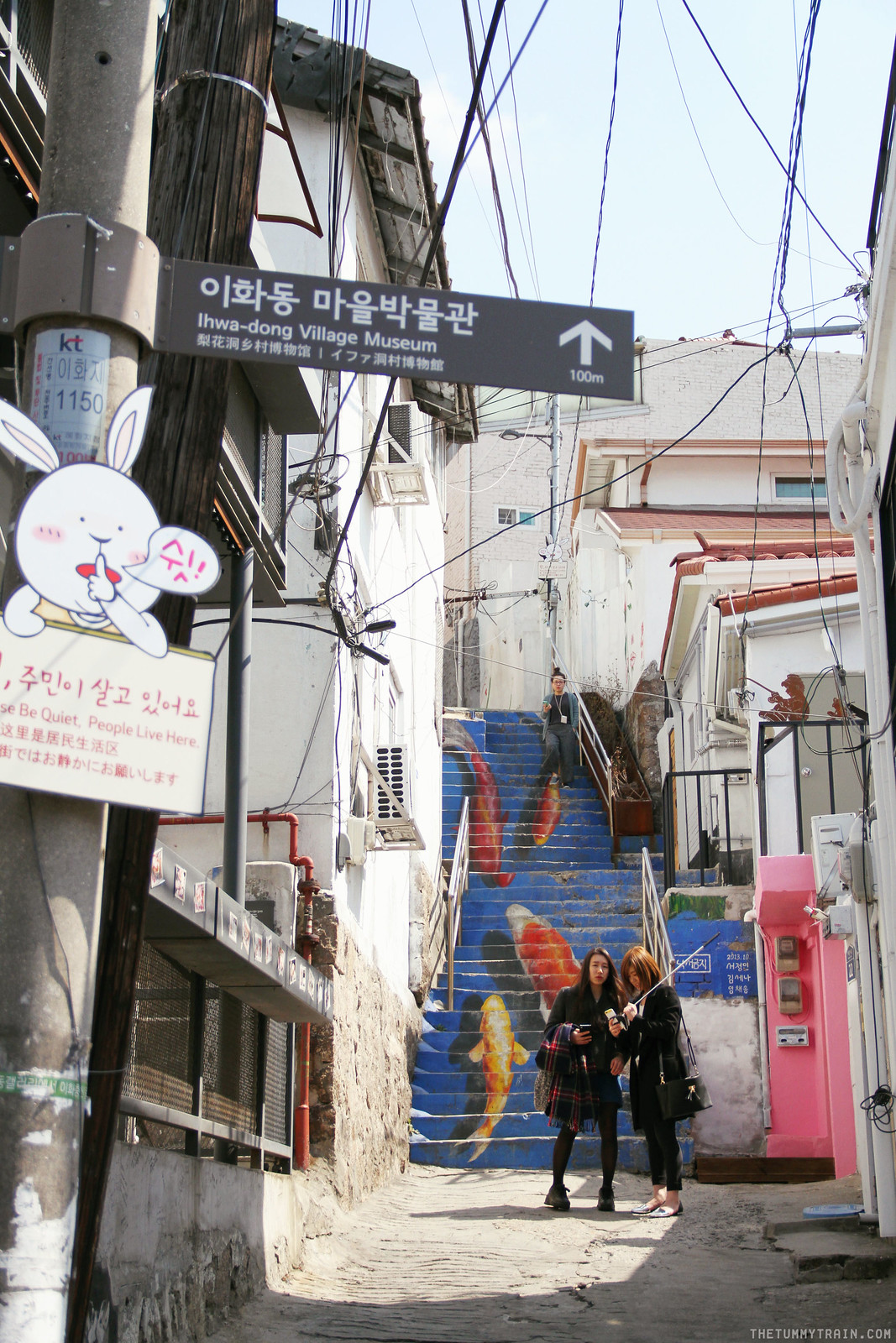 33467875712 6f30ea405b h - Seoul-ful Spring 2016: A mini exploration of Ihwa Mural Village