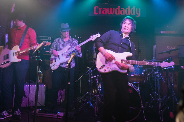 The BECK's live at Crawdaddy Club, Tokyo, 08 Apr 2017 -00325