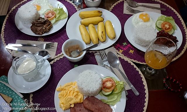 Bahay Ni Tuding - Breakfast Meal