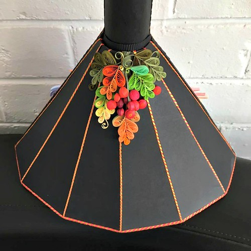 Quilled Balalaika - Back Detail
