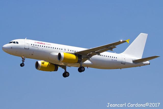 Air Malta Airbus A320-232 '9H-AHR' LMML