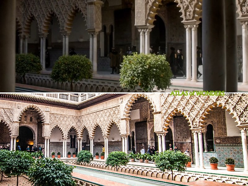 Alcazar of Seville soundstage