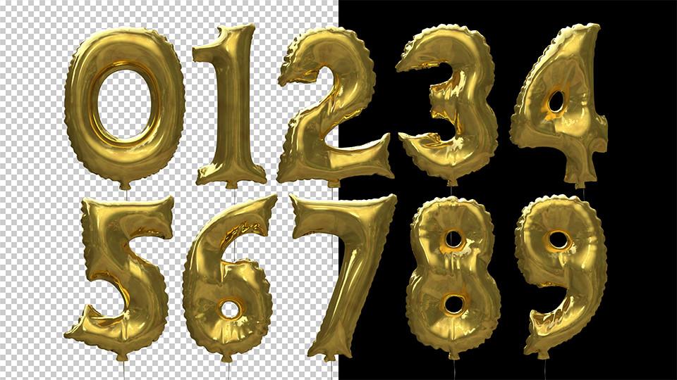 Happy Birthday Balloons By Chukhin Videohive