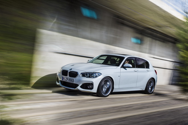 [新聞照片一] BMW 1系列五門掀背跑車