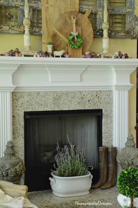 Spring Mantel-Housepitality Designs