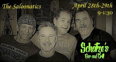 Saloonatics 4-28, 4-29-17