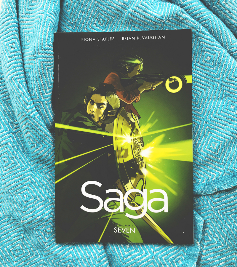 saga volume 7 review book blog vivatramp