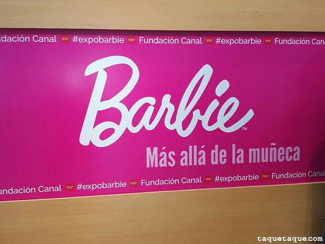 Exposición Barbie, más allá de la muñeca. Fundación Canal (Madrid) 22 de abril de 2017