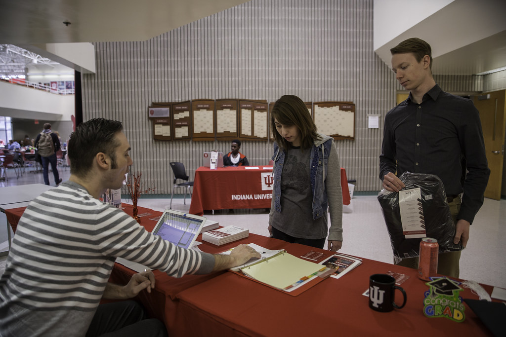 Cap & Gown distribution | IU Kokomo | Flickr