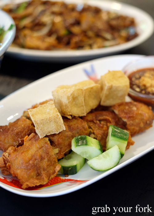Lobak from Penang Cuisine in Epping Sydney