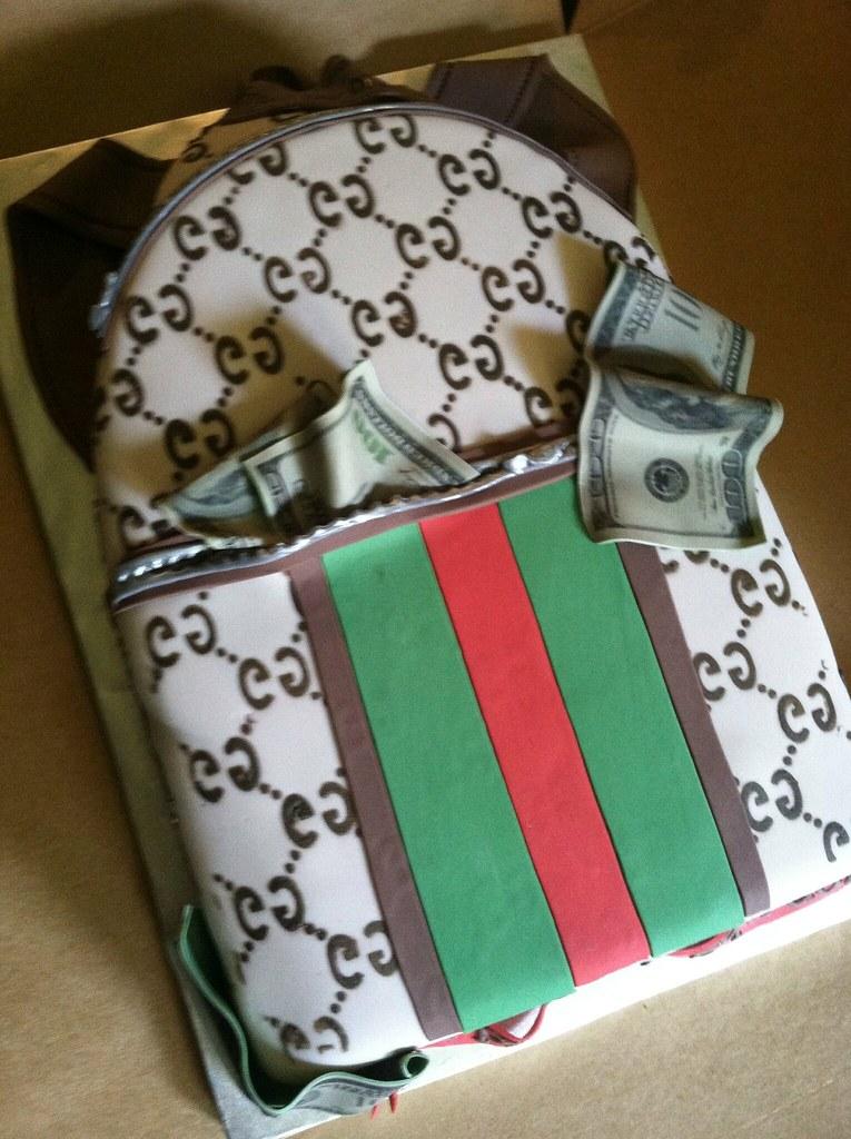 Gucci Purse Red Velvet Cake