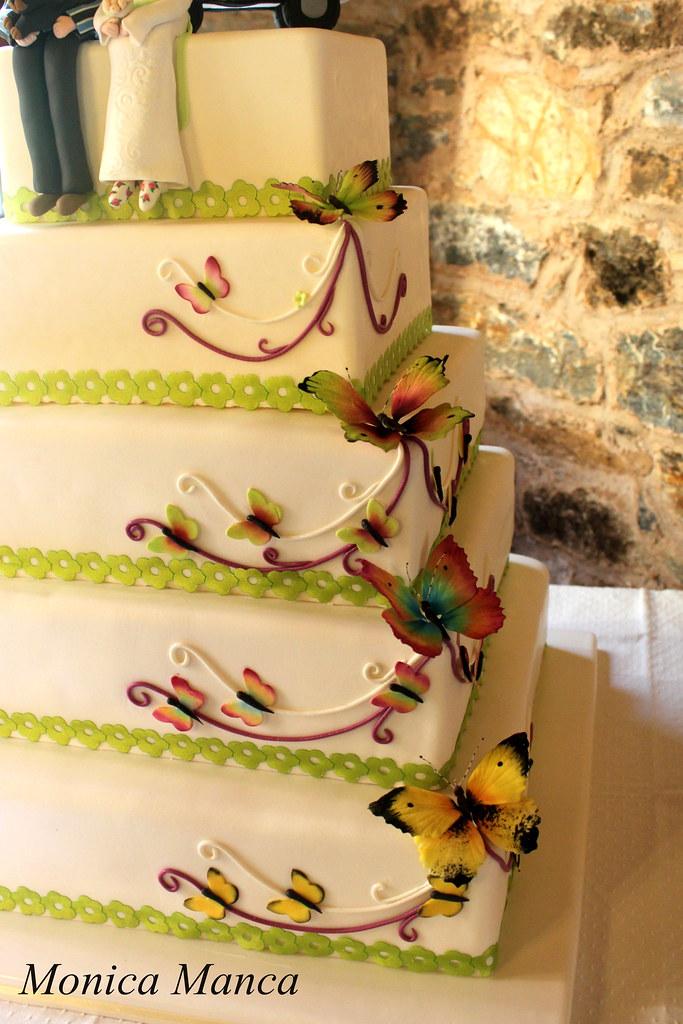 Hippie wedding cake   Monica Manca   Flickr