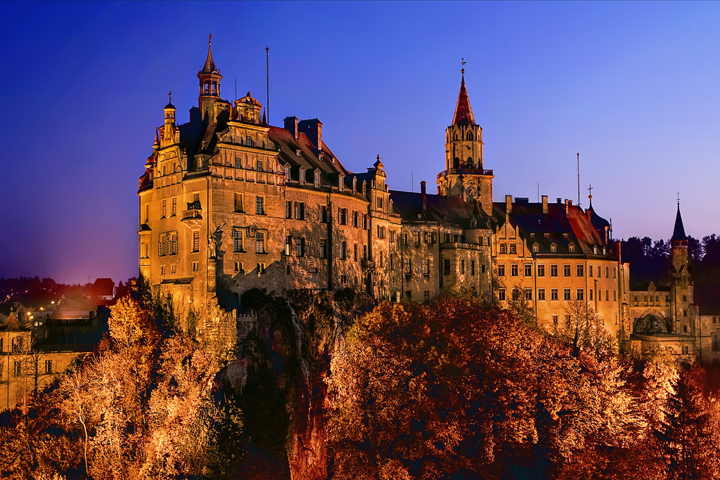 Castle Of Sigmaringen Sigmaringen Germany Flickr