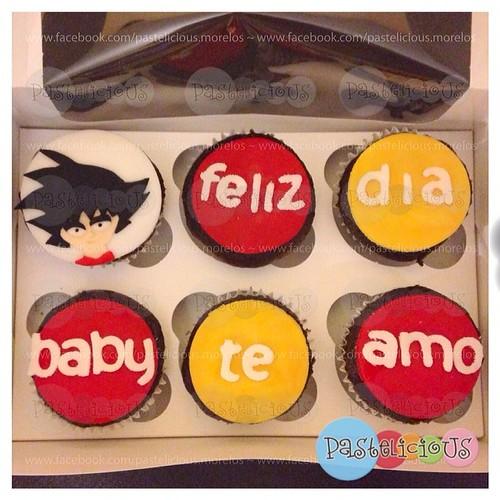 pastelicious #cupcakes #goku #loversday #panques #sanvalentin ...
