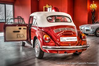 VW MAGGIOLINO BEETLE TUBO FRENO ANTERIORE A TAMBURO DRUM BRAKE HOSE FRONT