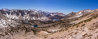 Panorama Of The View From Kearsarge Pass | by sierrahiker33