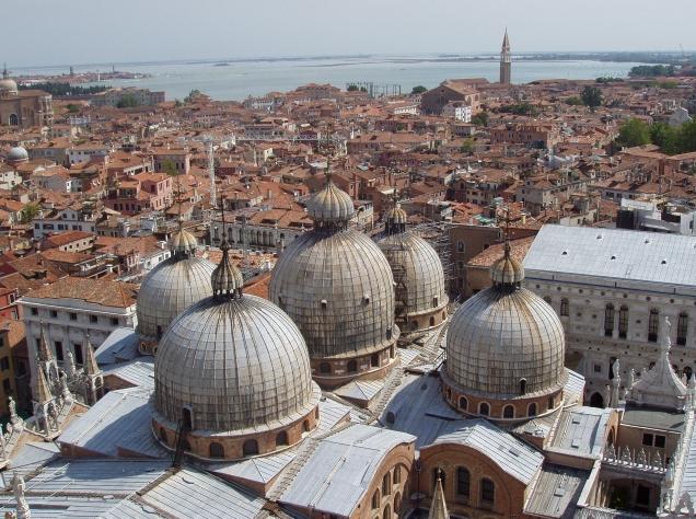 Vistas desde el campanile de San Marco (¿Uno de los mejores miradores venecianos?)