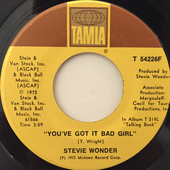 STEVIE WONDER:SUPERSTITION(LABEL SIDE-B)