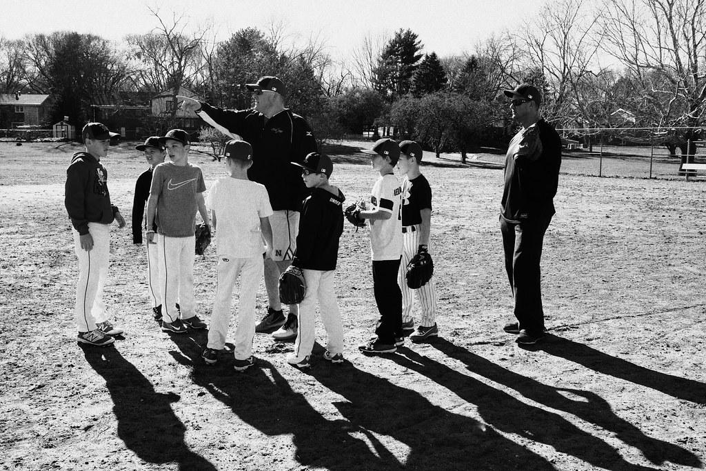 Baseball Practice, April 06, 2017