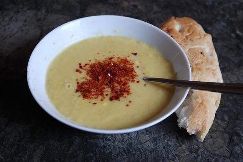 Maissuppe (mein 1. Schälchen)