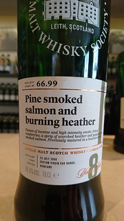 SMWS 66.99 - Pine smoked salmon and burning heather