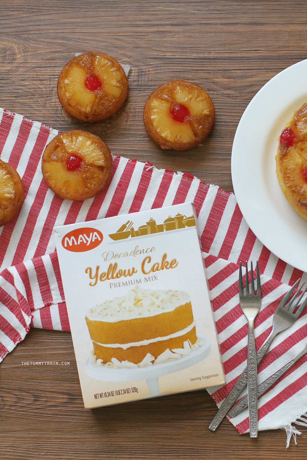 33207553514 574305fcf1 h - Taste Test: Maya Yellow Cake Mix Pineapple Upside Down Cake