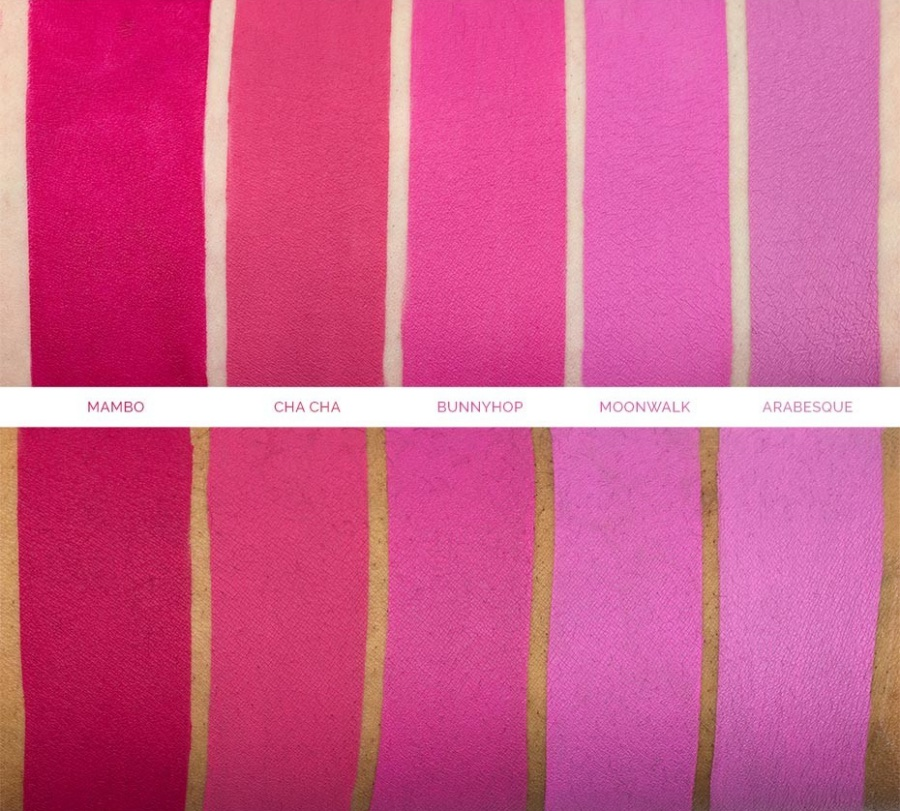Makeup Geek Showstopper Creme Stain Swatches