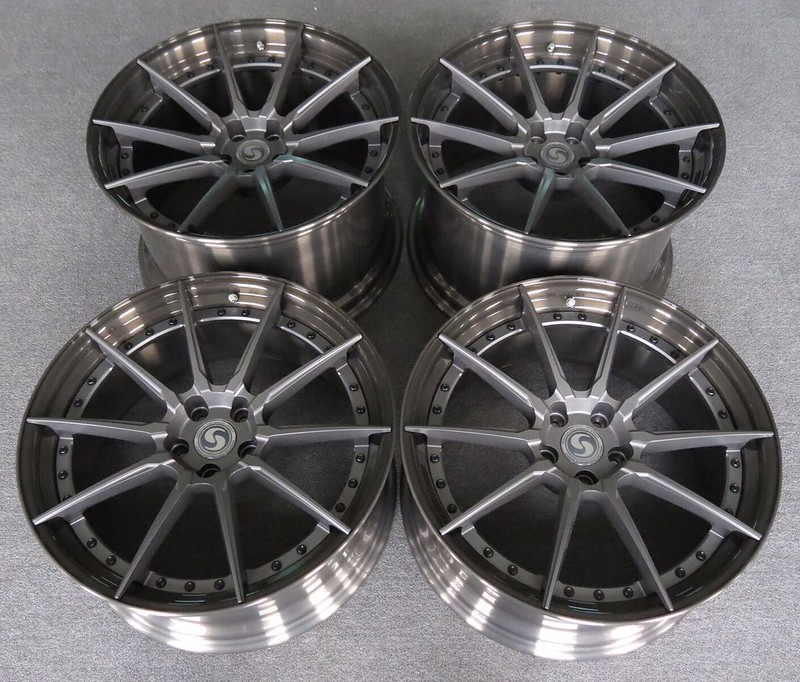 20 Signature Wheel Quot Sv303s Quot 2 Piece Fully Forged Wheels
