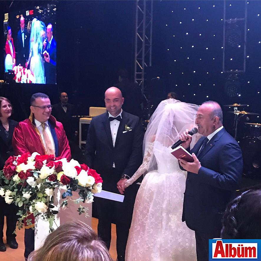 Antalya Su Otel'de düzenlenen törene Dışişleri Bakanı Mevlüt Çavuşoğlu da katıldı.