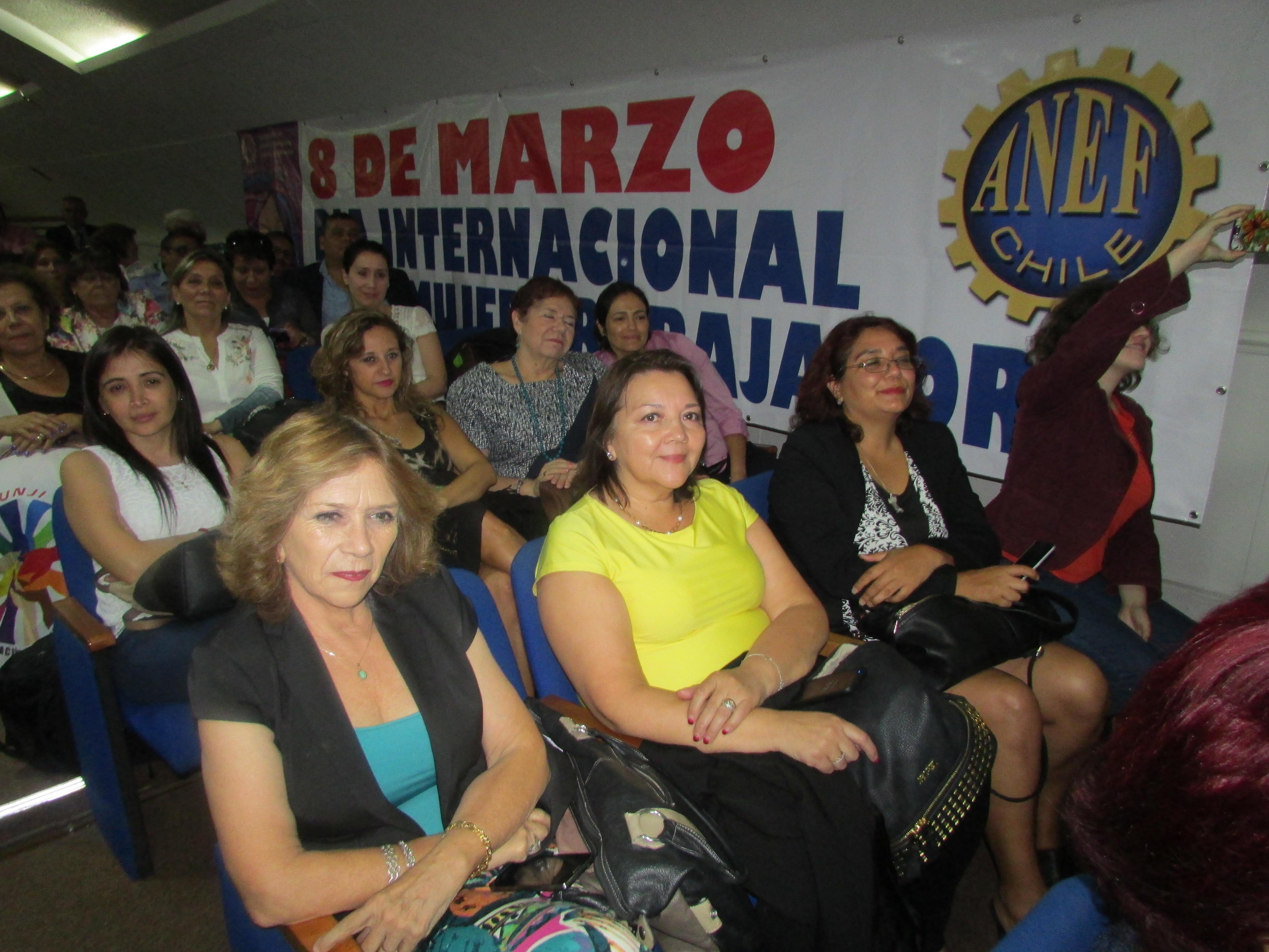 ANEC participa en acto ANEF por Día Internacional de la Mujer - 09 Marzo 2017
