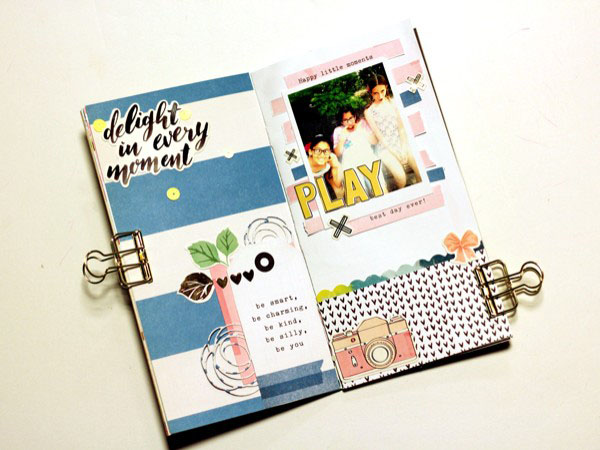 Janet Perafan-Babar | Cocoa Daisy March 2017 Travel Journal Layout