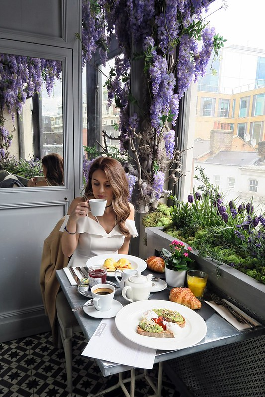 Wanderlust Us Travel Blog - Aubaine Selfridges London Brunch