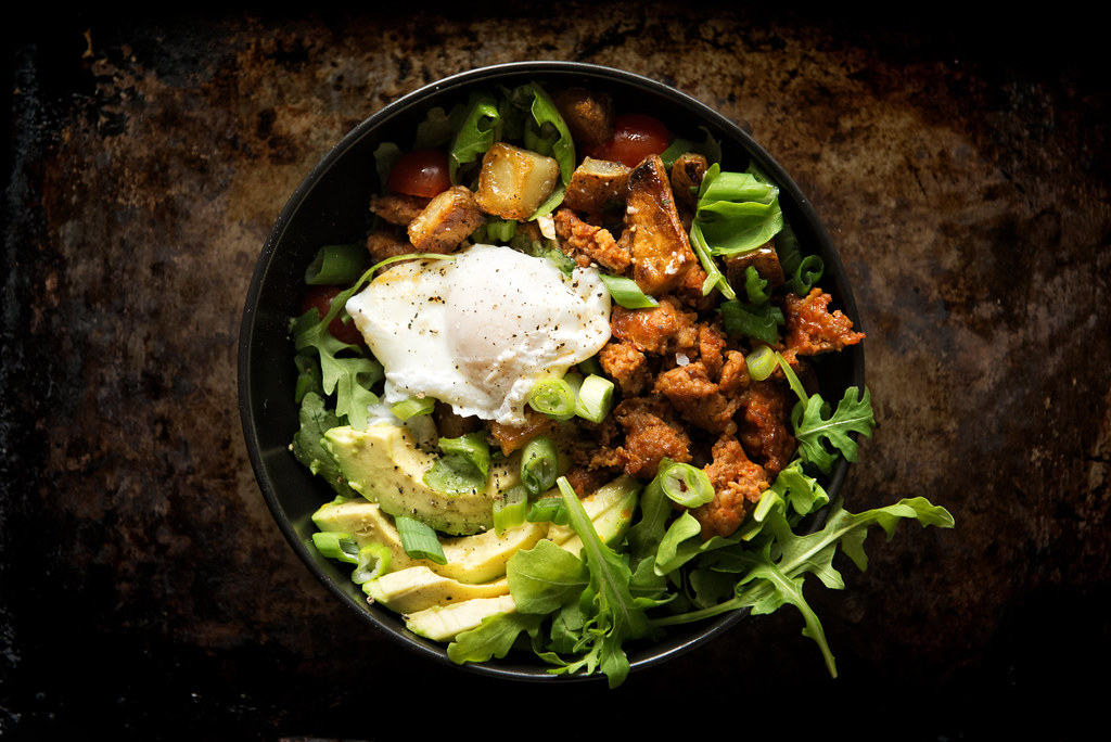 Chorizo Hash Breakfast Bowl