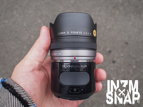 OLYMPUS AIR A01 + LUMIX G FISHEYE 8mm/F3.5 | by INZM.