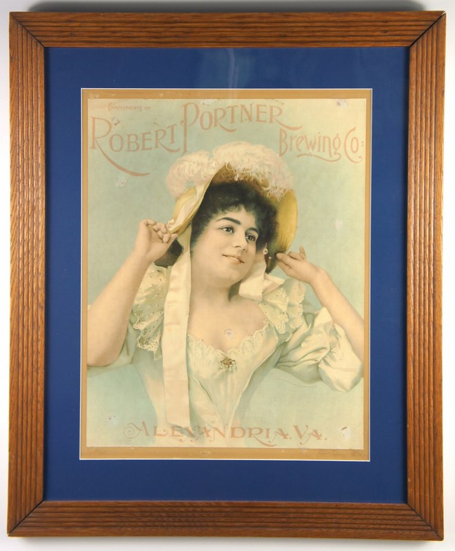 Robert-Portner-Brewing-Co-lithograph-Signs-Pre-Pro-Robert-Portner-Brewing-Co-Tivoli-Brewery