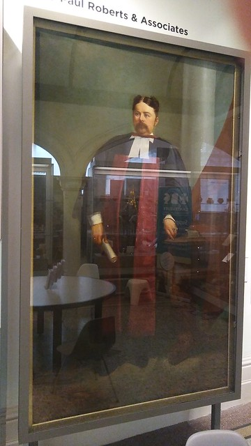 Portrait of Dr James Beaney in Beaney Institute Main Hall